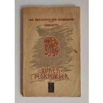 Schonaich Carolath Isa Prinzessin von, Runendenkmaler, Urquell Verlag Erich Roth, 1924