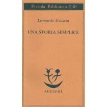 Sciascia Leonardo, Una storia semplice, Adelphi, 1992