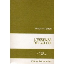 Steiner Rudolf, L'essenza dei colori, Antroposofica, 1982