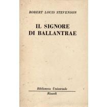 Stevenson Robert Louis, I signori di Ballantrae, Rizzoli, 1950
