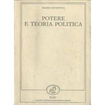 Stoppino Mario, Potere e teoria politica, Edizioni Culturali Internazionali Genova ECIG