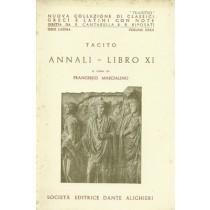 Tacito, Annali. Libro XI, Società Editrice Dante Alighieri, 1960