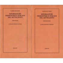 Venturi Franco (a cura di), Riformatori piemontesi e toscani del Settecento (2 voll.), Einaudi, 1979
