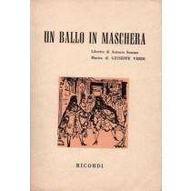 Verdi Giuseppe, Un ballo in maschera, Ricordi, 1959