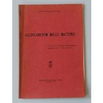 Vinciguerra Marcello (a cura di), Allineamento delle batterie, Poligrafico dell'Accademia Navale, 1970