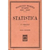 Virgilii Filippo, Statistica, Hoepli, 1923