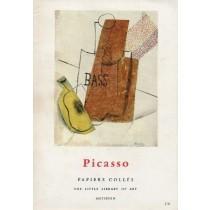 Wescher Herta, Picasso. Papier colles, Methuen, 1964