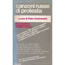 Zveteremich Pietro (a cura di), Canzoni russe di protesta, Garzanti, 1972