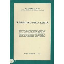 Cascone Rosario, Il Ministero della Sanità, Edizioni Presenza, 1966
