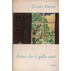 Pavese Cesare, Prima che il gallo canti, Einaudi, I coralli, 1952