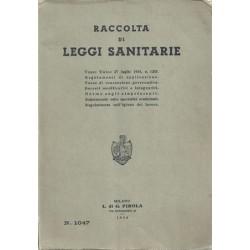 Raccolta di leggi sanitarie. Testo Unico 27 luglio 1934, n. 1265, Pirola, 1954