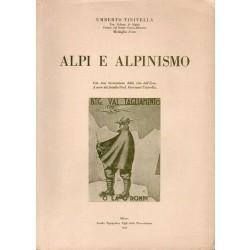 Tinivella Umberto, Alpi e alpinismo, Scuola Tipografica Figli della Provvidenza, 1942